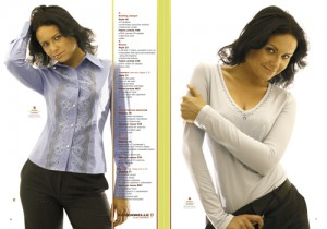Страница каталога одежды