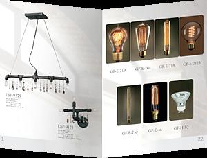 Разворот каталога ламп