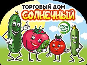 Этикетка овощи ТД Солнечный